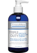 Titanmen Triple Duty Fist, Fuck And Jack Off Cream 8oz